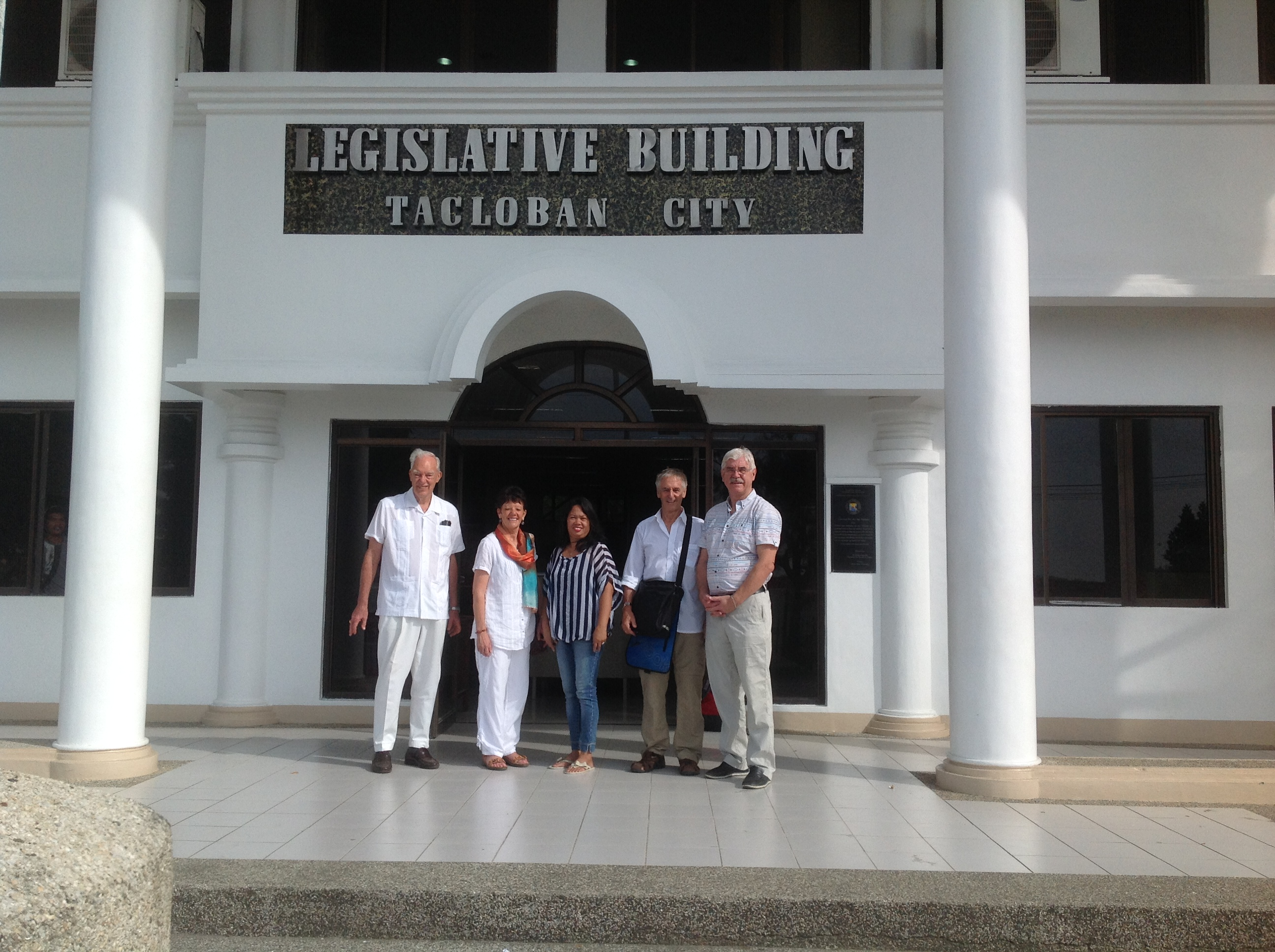 Sathya Sai Eduators at Tacloban Legislative Building